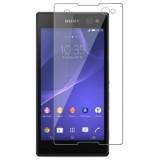 برچسب محافظ صفحه نمایش گلس sony xperia c3