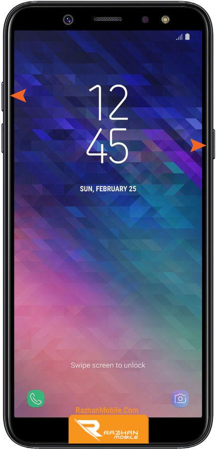 ریکاوری مد و ریست فکتوری و هارد ریست گوشی سامسونگ ای 6 | Samsung A6