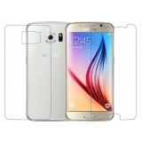 برچسب محافظ صفحه نمایش پشت و رو گلس Samsung Galaxy S6