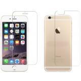 برچسب محافظ صفحه نمایش پشت و رو گلس  iphone 6 plus