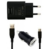 Blackberry Wall Charger With Car Charger