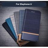 Leather Case For Elephone U
