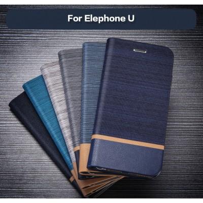 Leather Case For Elefoon U